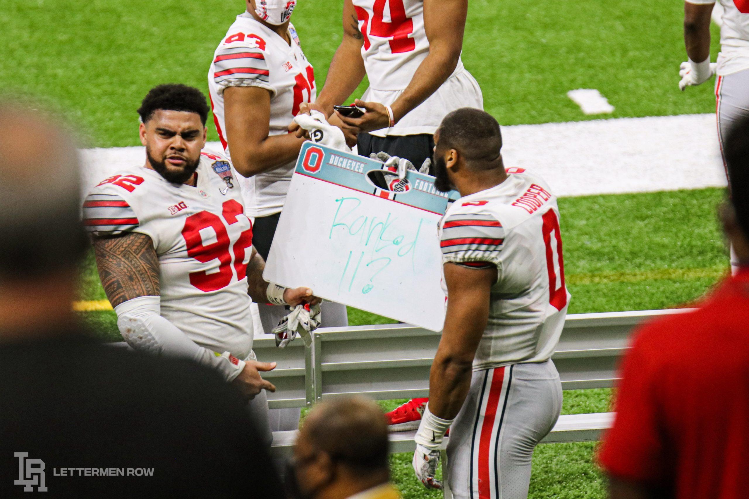 Haskell Garrett-Ohio State-Jonathon Cooper-Buckeyes-Ohio State football