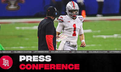 Ryan Day-Justin Fields press conference-Ohio State-Ohio State football-Buckeyes