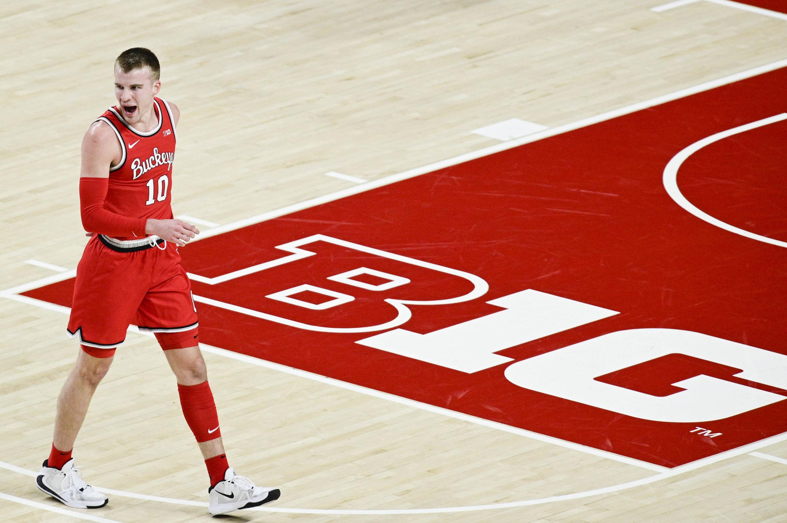 Justin Ahrens-Ohio State-Ohio State basketball-Buckeyes