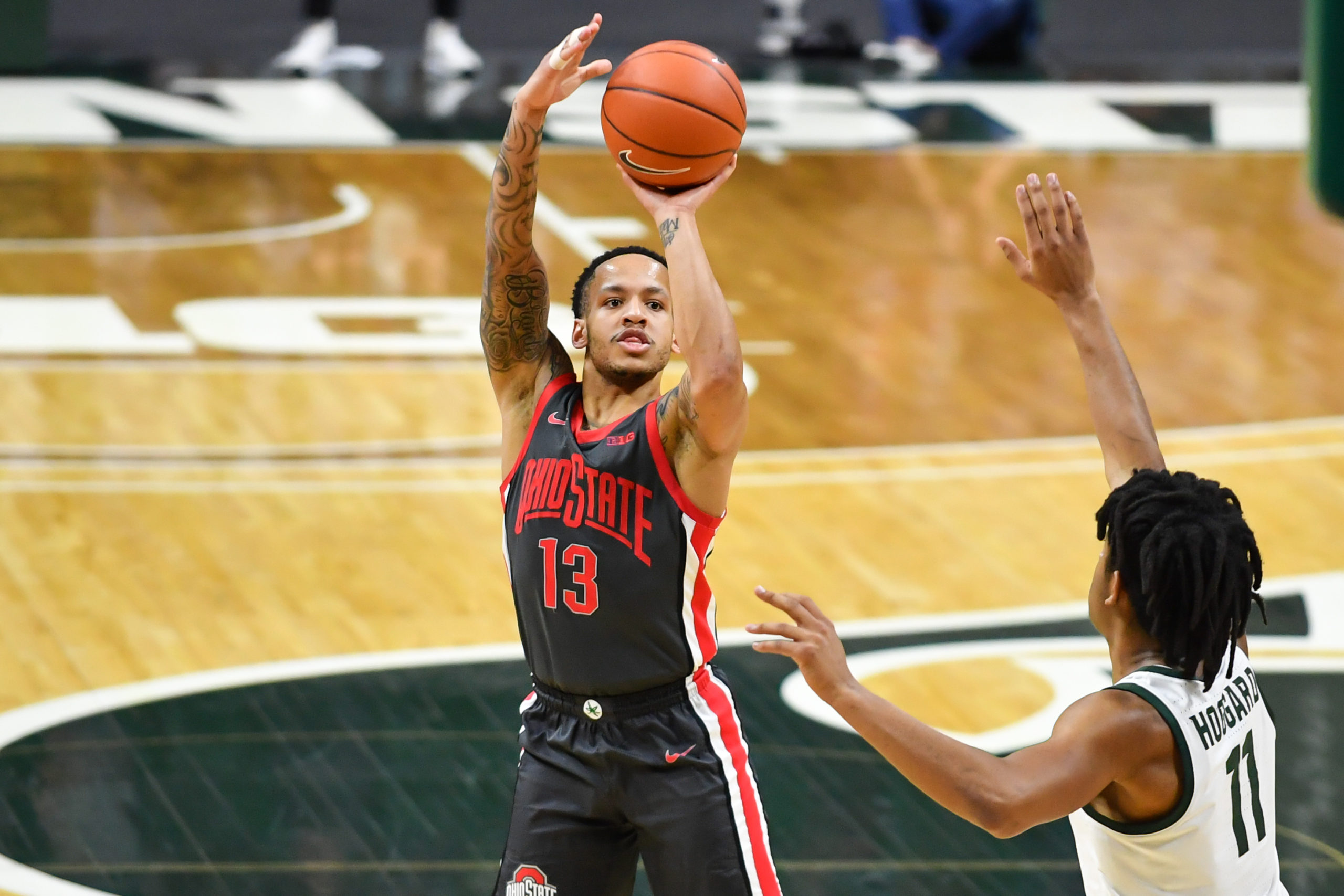 CJ Walker-Ohio State-Ohio State basketball-Buckeyes