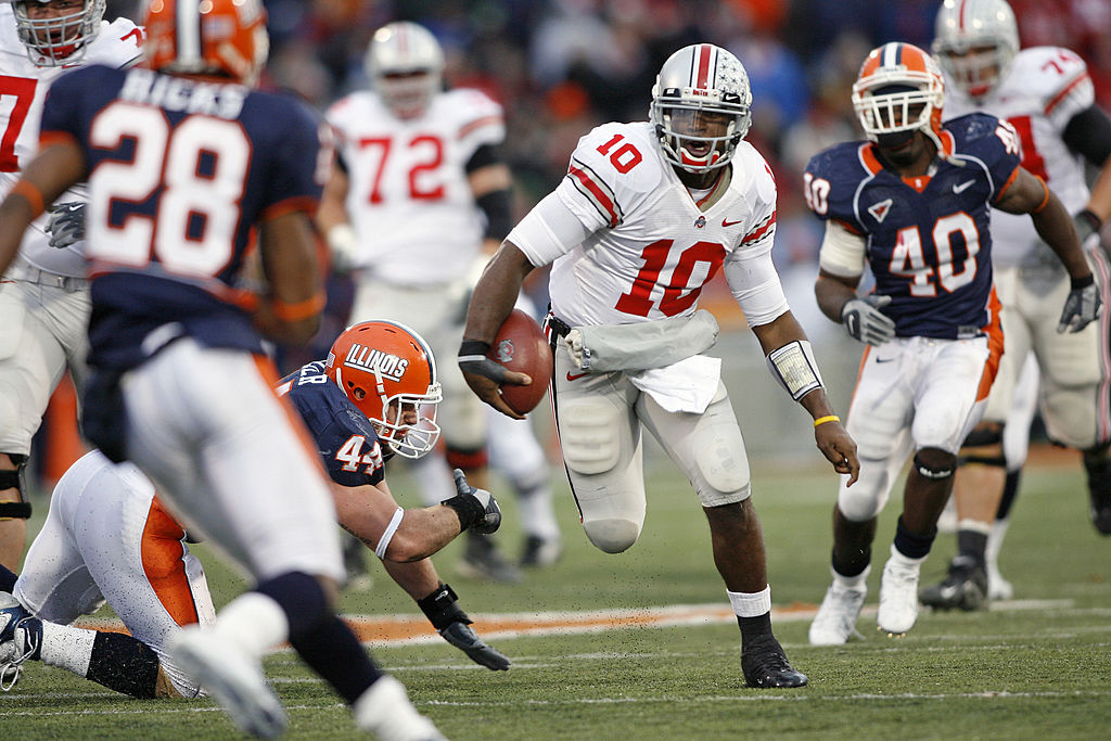 Troy Smith-Ohio State Buckeyes-Ohio State football
