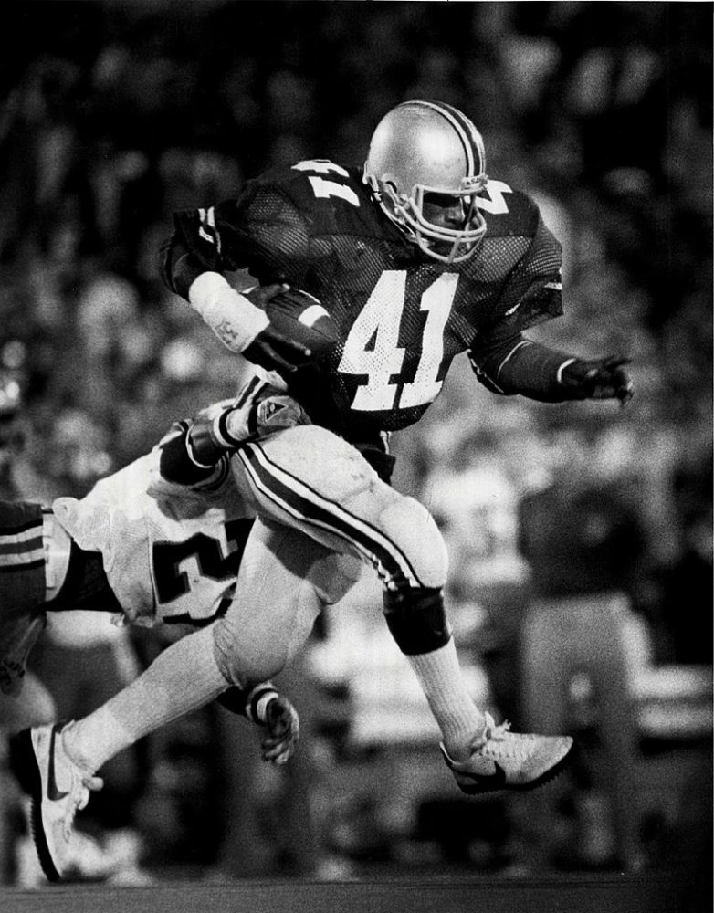 Keith Byars-Ohio State Buckeyes-Ohio State football