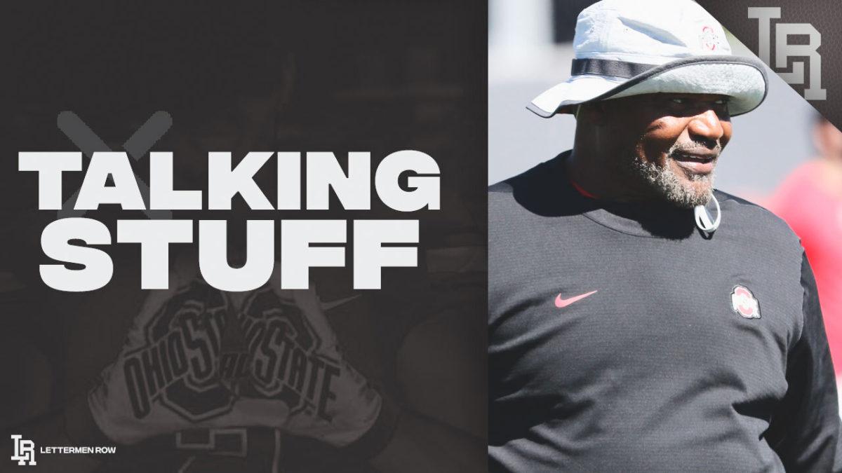 Talking Stuff-Ohio State-Ohio State football-Buckeyes